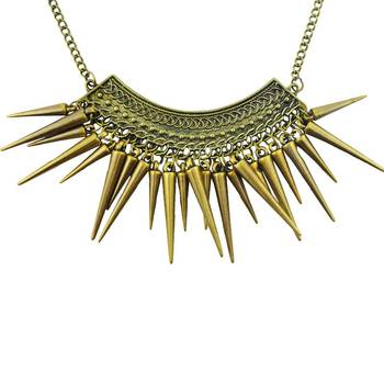 DIOVANNI Rebel by Nature Maverick in Action Gold Necklace