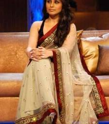 Buy Rani mukherjee red rose net-saree online