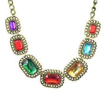 Pussycat Dolls ki JAI HOGemstone Statement Necklace