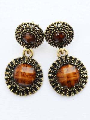Caramel Antique  Earrings