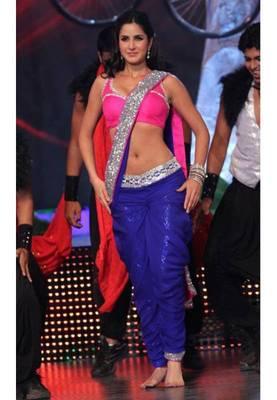 Katrina Kaif Jhalak Bollywood Replica Saree