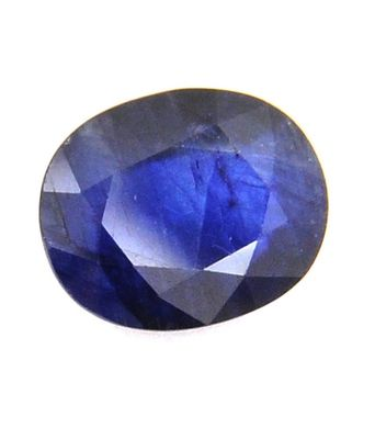5.25 carat natural blue sapphire (neelam) gemstone with lab certified