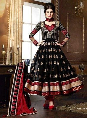 Party wear Designer Floor Touch Aanarkali Suit