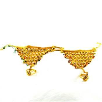 hm Micro gold platted designer hathpool
