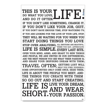 Definition Of Life Poster