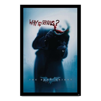 Why So Serious - The Dark Knight Poster