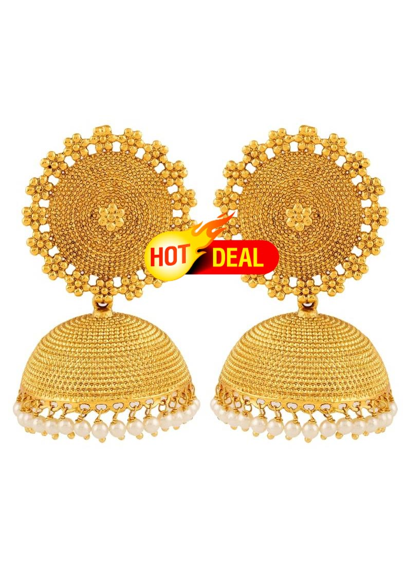 lar buy gold earrings jhumkas designs jhumka jewellery price jaali