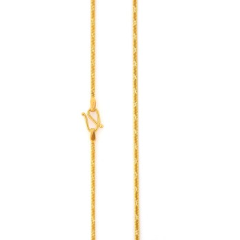 Designer Gold Plated Chain For Man's & Womans