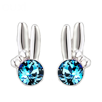 Dealtz Fashion Blue Stone Earrings