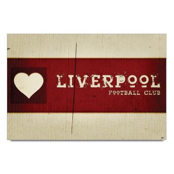 Liverpool Heart Poster