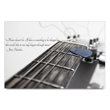 Jimi Hendrix Quote Poster