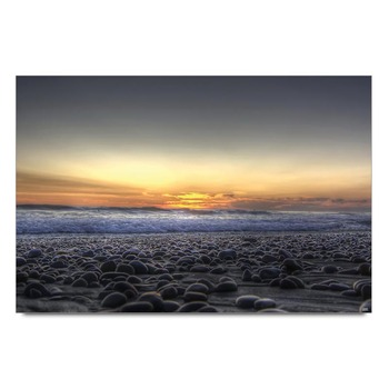 Sunset View Seaside Poster