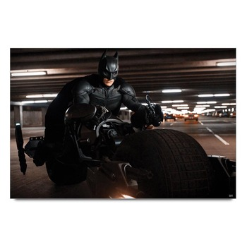 Batman Bike Chase Joker Poster