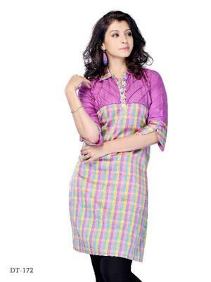 Party Wear kurti made from art silk