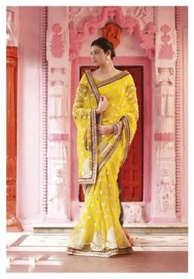 Embroidered Saree SC2494