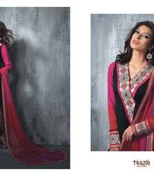 Buy Multi color Designer embroidered Salwar suit pakistani-salwar-kameez online