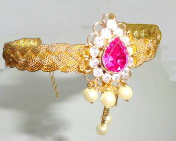 Bajubandha chatai Waki Armlet Maharashrian Traditional of pearls