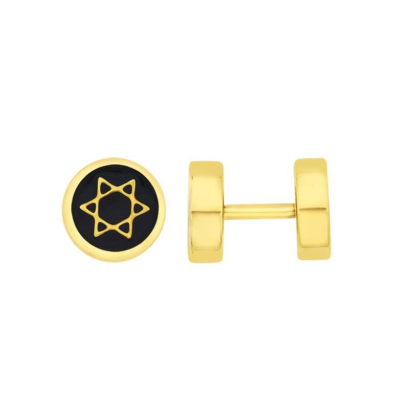 Buy Earrings Men Boys Studs Gold Star Design Piercing Fashion Bali ...
