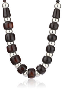 Designer Metal Ball Necklace