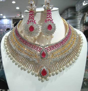 Designer American diamonds Set