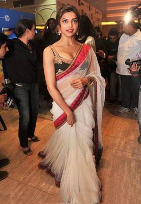 Deepika Padukone Bollywood Replica Saree