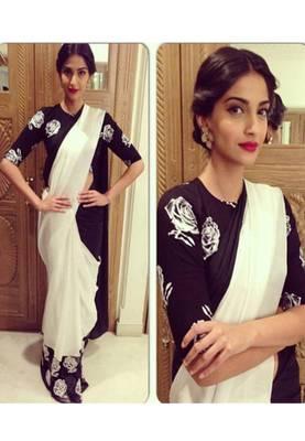 Sonam Kapoor Bollywood Replica Saree