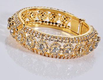 Designer Diamond Openable Kada