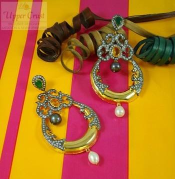 Bridal Party Chandelier Dangler Earrings