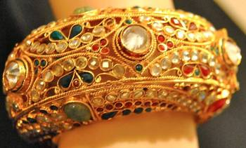 Traditional Gold Kada