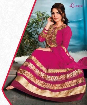 Preity Zinta Designer Anarkali Suit