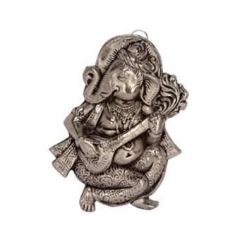 eCraftIndia Wall Hanging Ganesha playing Veena