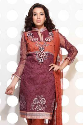 A Good looking umber colour embroidered suit