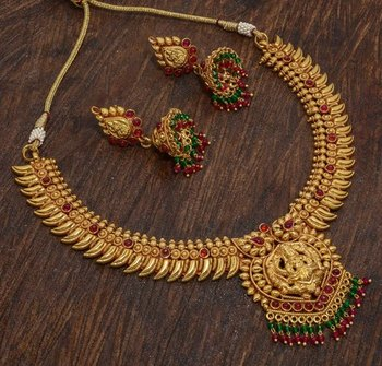 Gold Copper south-indian-jewellery