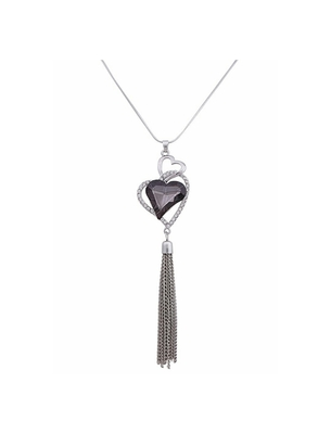Silver Stylish and fancy necklace