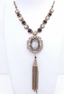 Multicolor plain necklaces