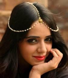 Buy Exclusive Elegant Chained Maangt- Tikka eid-jewellery online