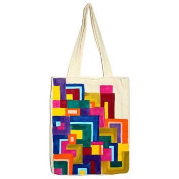 Color Maze Tote Bag