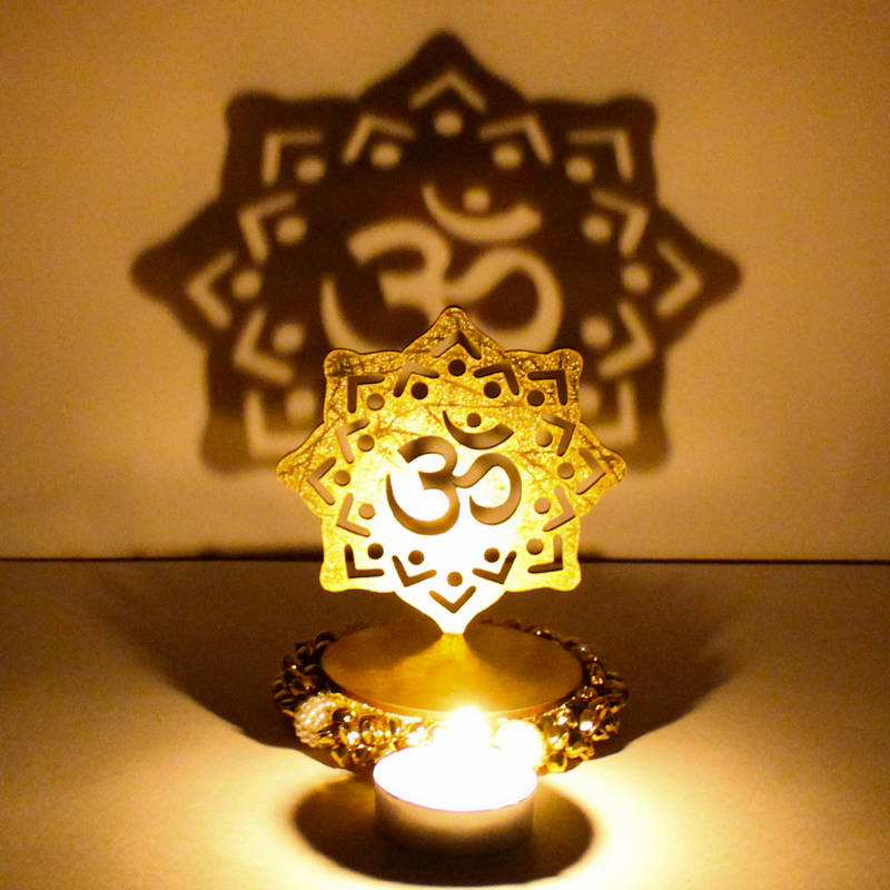 Buy Exclusive Shadow Diya Tealight Candle Holder Of