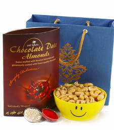 Buy Bhaidhooj chocolate dates almond treat with cashew nuts diwali-chocolate online