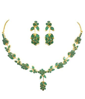 Emerald Fancy Necklace