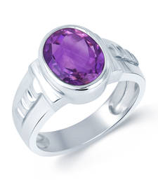 Buy 5.8ct Purple Amethyst gemstone rings gemstone-ring online