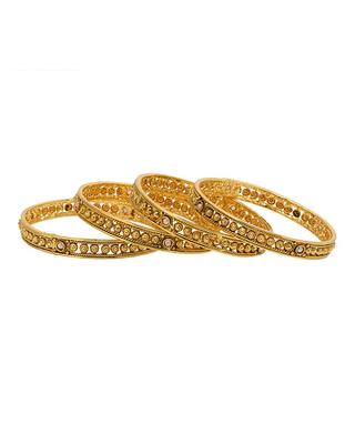 Gold beaded_jewellery bangles-and-bracelets