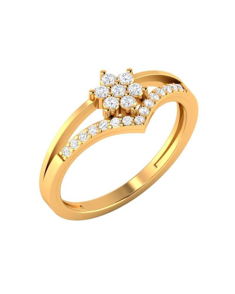 Buy Gold plain rings Online