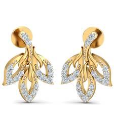 Buy 0.25ct diamond studs 18kt gold earrings gemstone-earring online