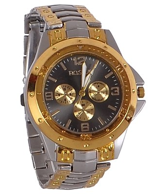 New Exclusive latest Silver and golden colour Boy's wear watch arrival