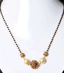 Buy Black pearl mangalsutra mangalsutra online
