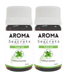 Buy Tulsi oil (15ml) - pack of 2 essential-oil online