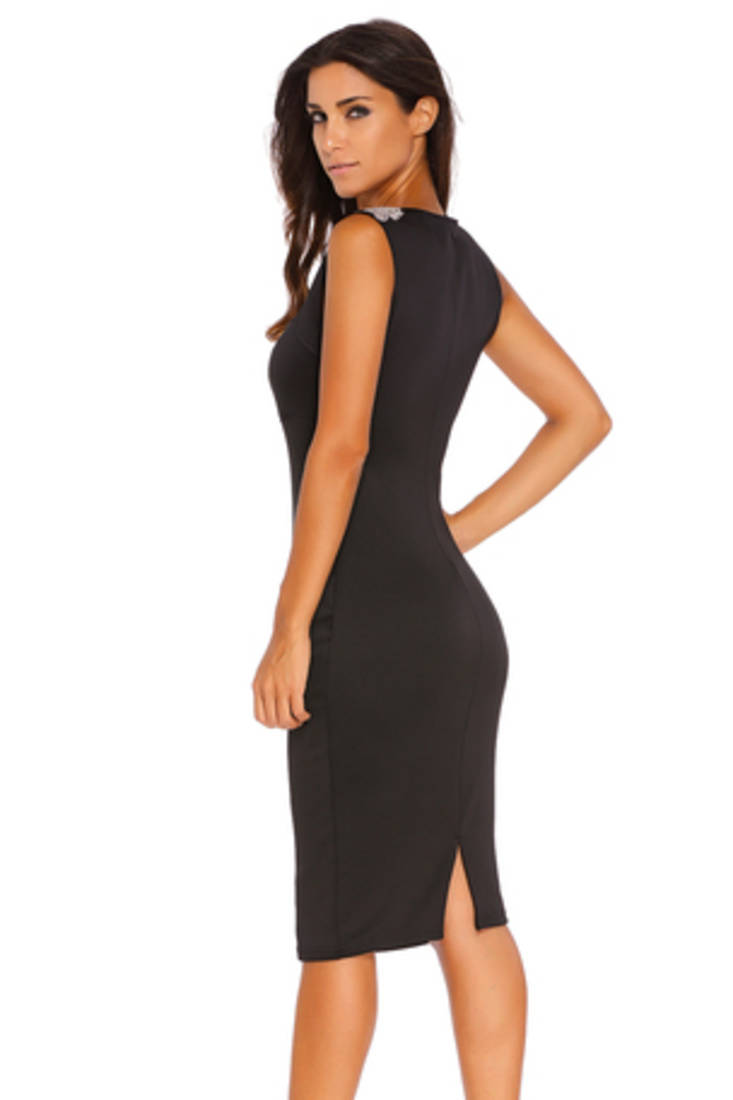 Buy Black Polyester And Spandex Sexy Western Wear Online-1324