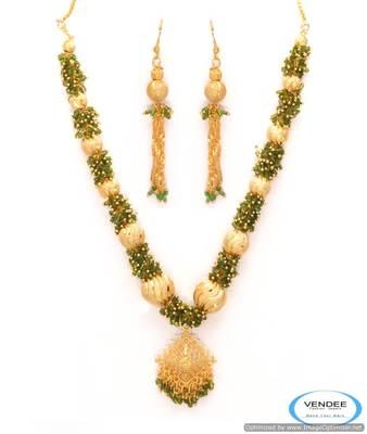 Vendee Creative fashion necklace set 6806