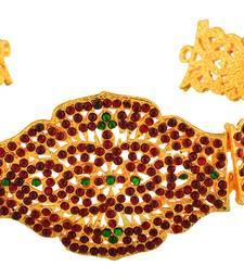 Buy golden plated Ruby waist belt waist-belt online